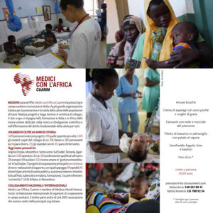 Cenarbeneficando inside - Medici con l'Africa Cuamm